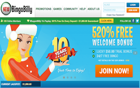 NEWBingoBilly Screenshot