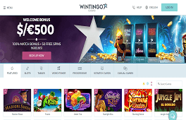 Wintingo casino Screenshot