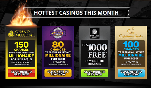 Casino Rewards Bonus